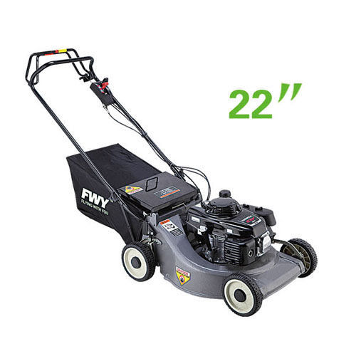 Self - propelled 22 inch Petrol Lawn Mower With Individual Height Adjustment